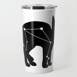 libra cat Travel Mug