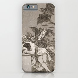 Francisco Goya The Sleep Of Reason Produces Monsters iPhone Case