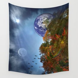 The Sky is Falling Wall Tapestry