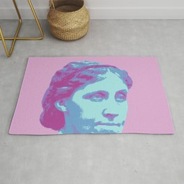 Louisa May Alcott Rug