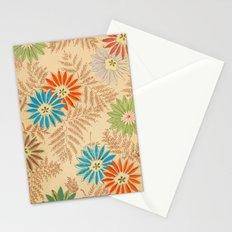 Japanese Vintage Flowers Pattern Stationery Cards