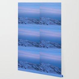 Snowy Mountain Climb Wallpaper