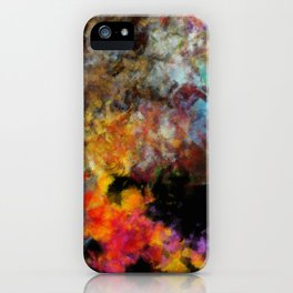 Flame and Ashes iPhone Case