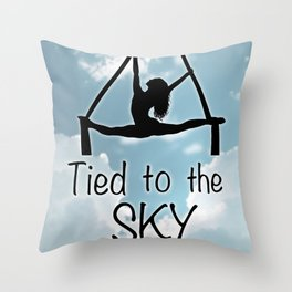 """Aeiralist """"Tied to the Sky"""" Graphic Throw Pillow"""