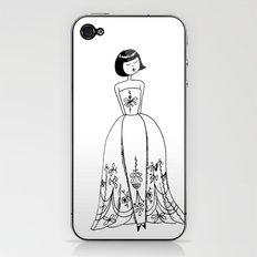 Sabrina iPhone & iPod Skin