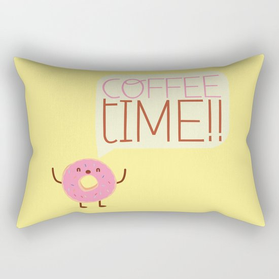 coffee time Rectangular Pillow
