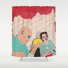 Natural Born Tacos Shower Curtain