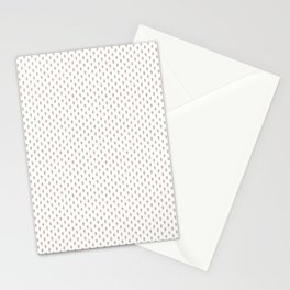 Hedgehog Forest Friends All-Over Repeat Pattern on White Stationery Cards