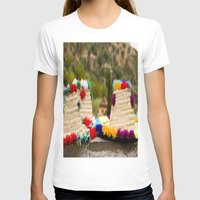 hats T-shirts featuring Straw hats by Simon Ede Photography