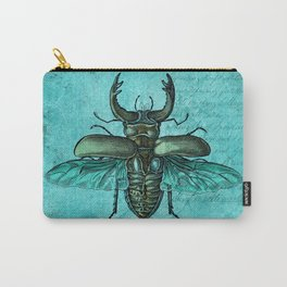 Beetle Art Carry-All Pouch