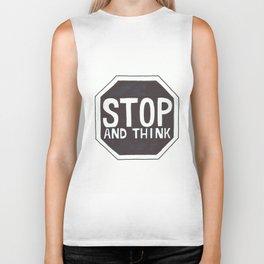 STOP Biker Tank