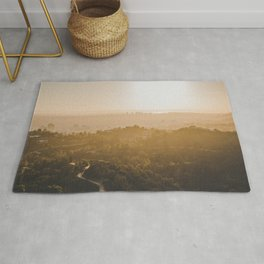 Golden Hour - Los Angeles, California Rug