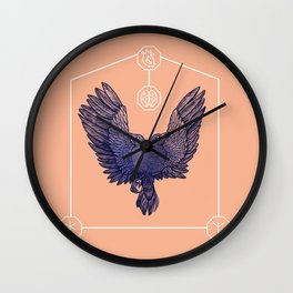 Hugin & Munin Wall Clock