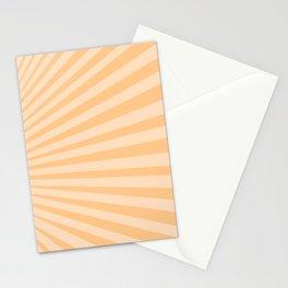 Sunburst in Orange Stationery Cards