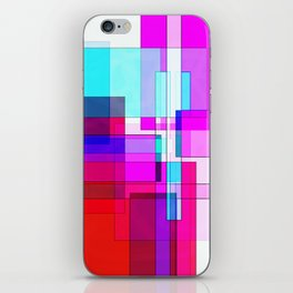 Squares combined no. 5 iPhone Skin