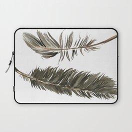 Poetic Feathers  Laptop Sleeve