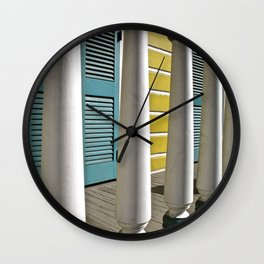 New Orleans Living Wall Clock