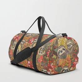 Because Sloths Autumn Duffle Bag