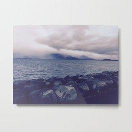 Bay of Reykjavík Metal Print