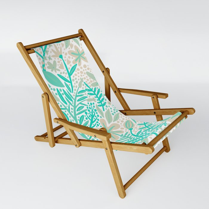 Garden – Mint & Cream Palette Sling Chair