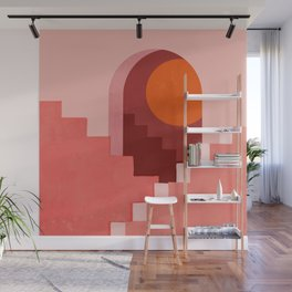 Abstraction_SUN_Architecture_Minimalism_001 Wall Mural