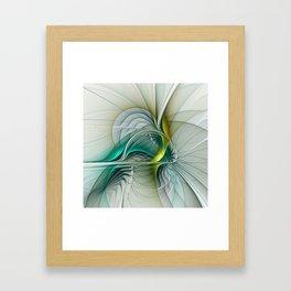 Fractal Evolution, Abstract Art Graphic Framed Art Print