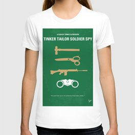 No787 My Tinker Tailor Soldier Spy minimal movie poster T-shirt