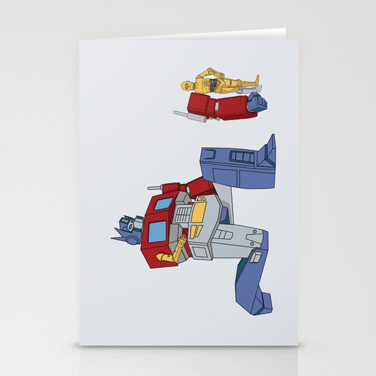 Not the Parts they were looking for... Stationery Cards