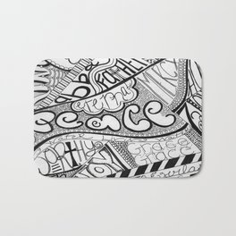 Call Out to God Bath Mat