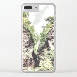 Watkins Glen, NY Clear iPhone Case