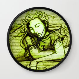 Romantic Ophelia Wall Clock