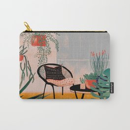 Urban jungle balcony Carry-All Pouch