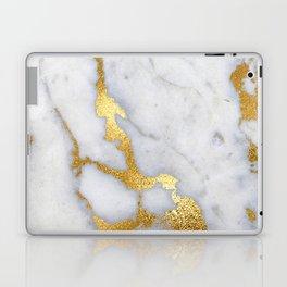 Italian gold marble II Laptop & iPad Skin