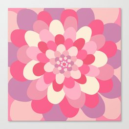 Bloom pattern Canvas Print