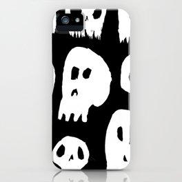 Spooky Skulls iPhone Case