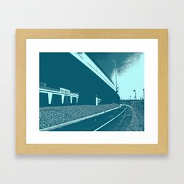 Bridge 16 Framed Art Print