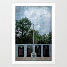 EOD Memorial Art Print