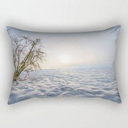 winter meadow Rectangular Pillow