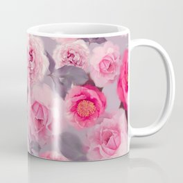 seamless   rose  pattern . Endless texture for your design Coffee Mug