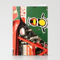 ducati Stationery Cards featuring Ducati Motor by Internal Combustion