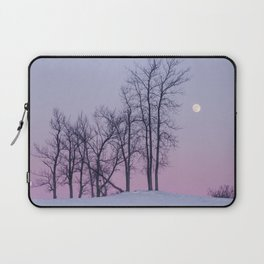 Winter comes to Sandbanks Laptop Sleeve