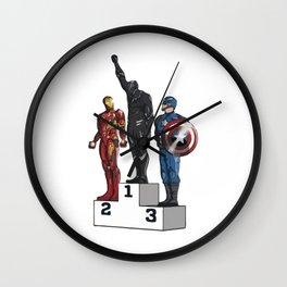 BLACK PANTHER POWER Wall Clock