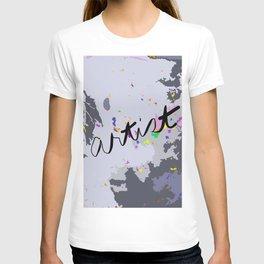 Artist: shades of gray T-shirt