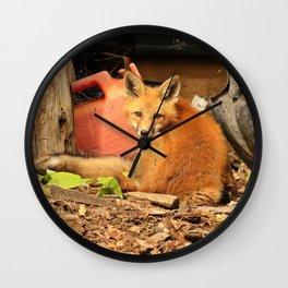 Sleeping on the job Wall Clock