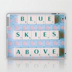 Blue Skies Above Laptop & iPad Skin