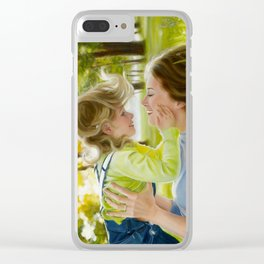 Be mummy Clear iPhone Case