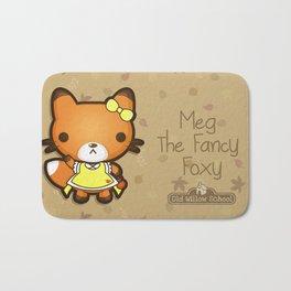 Meg the Fancy Foxy Bath Mat