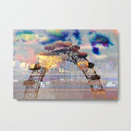 London II - London Eye Metal Print