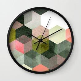ABSTRACT GEOMETRIC COMPOSITON I Wall Clock
