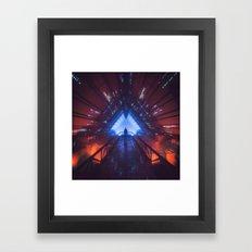 HYPERLIGHT78 (everyday 05.13.17) Framed Art Print